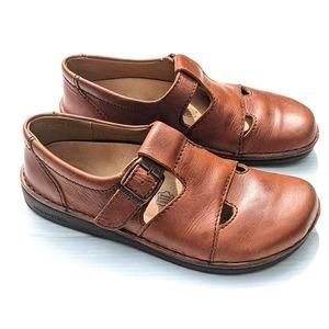 BIRKENSTOCK Women's Mary Jane Leather Flats